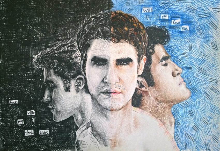 Darren Criss by tanyakorneeva